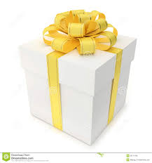 bow boxes gift box with yellow ribbon and bow royalty free stock image gift