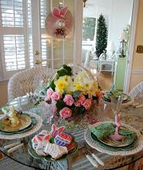 3 easter spring table settings