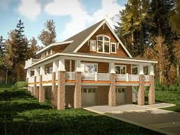 Lakeside Cottage House Plans | rustic lake house plans waterfront cabin small cottage home with