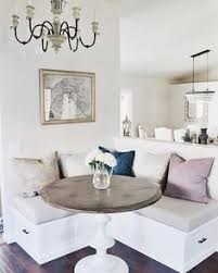 White Kitchen Table With Bench by 7 Genius Ways To Design A Small Space Small Space Design Small