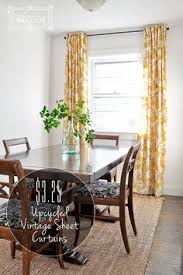 Curtains Made From Bed Sheets Vintage Sheets Torn And Made Into Curtains Crafty Wedding