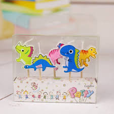 aliexpress com buy 5pcs set dinosaur craft candles cupcake