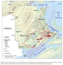 New Brunswick Canada Map Detailed by A Preliminary Assessment Of Carbon Storage Suitability In Deep