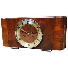 Amazon Mantle Clock Beautiful Art Deco Design Chiming Mantel Clock From Kienzle