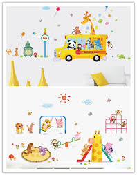 compare prices lion wall decal online shopping buy low owl monkey giraffe lion animal park wall stickers for kids rooms nursery living room bedroom