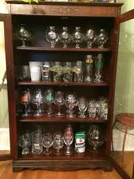pint glass display cabinet show us your glass cabinet community beeradvocate