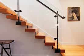 seattle painting stair treads staircase contemporary with wall art
