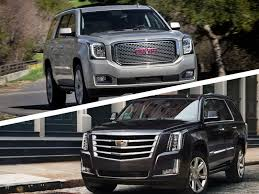 cadillac escalade pictures 2017 cadillac escalade vs 2017 gmc yukon denali which is best