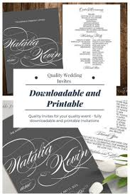 downloadable wedding invitations stunning made and downloadable wedding invitations ad
