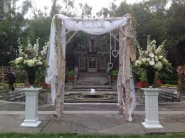 wedding arches toronto graydon manor arch the s wedding arch