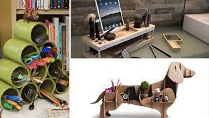 Desk Organizer Ideas Tutorialous 14 Cool Desk Organization Ideas