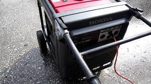 honda generator em7000is for sale youtube