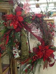 country style christmas wreath christmas decor pinterest