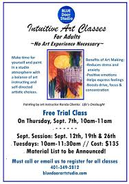 art classes in smithfield ri blue door art studio cranston ri