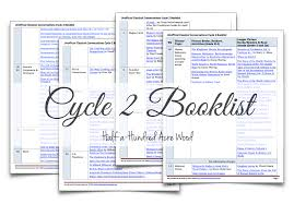 unofficial cc cycle 2 booklist half a hundred acre wood