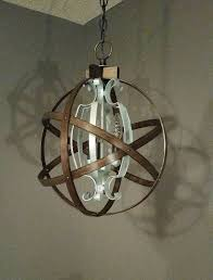 Shabby Chic Light Fixture by 25 Best Ideas About Orb Light Fixture On Pinterest Orb Light