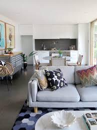 living room living room refresh floor sofa fabric l shaped gray