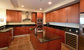 Black Countertop Kitchen Cherry Cabinets Kitchen Homely Inpiration 25 Exellent Backsplash