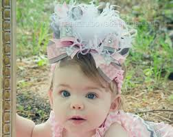 baby bow boutique hair bows etsy