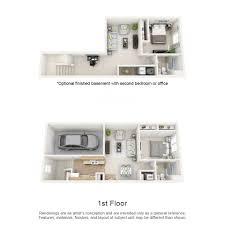 Townhome Floor Plan by Rates U0026 Floor Plans Townhomes On Blackhawk Landing
