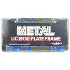 sdsu alumni license plate frame uc irvine anteaters alumni metal license plate frame