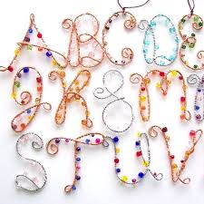 76 best wire letters images on jewelry ideas wire and