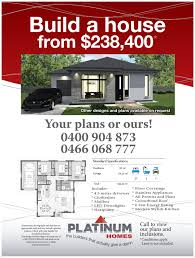 our home plans hobart home builders and renovation platinum homes