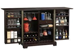 Portable Bar Cabinet Howard Miller Barolo Console Portable Wine Bar Cabinet Howard