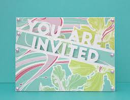 You Are Invited Card You Are Invited Edge Card Free Cut File