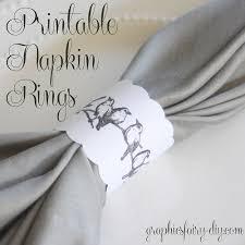 printable napkin rings printable bird napkin rings the graphics fairy