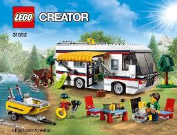 lego vacation getaways 31052 creator