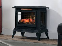 Electric Fireplace Stove Duraflame Electric Fireplaces Liberty Black Electric Fireplace