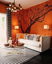 orange livingroom orange living room ideas in interior decor living room with