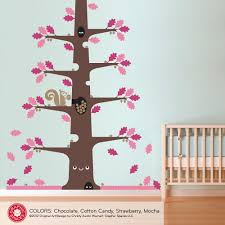 mighty oak happy tree wall decal graphic spaces nursery tree decal mighty oak happy tree