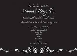 design free printable 18th birthday invitation editor with gray