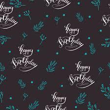 imagenes de cumpleaños sin letras patrón sin fisuras con letras feliz cumpleaños ilustración