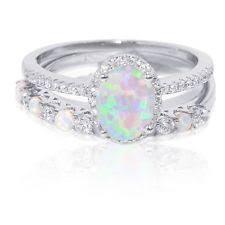 opal and engagement ring opal engagement ring ebay