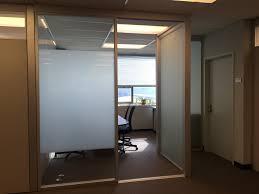 sliding doors custom modern glass doors office room dividers 2