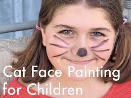 Kitty Faces For Halloween by Cat Face Painting For Children Designs Tips And Tutorials