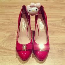 Wedding Shoes Singapore My Ferragamo Bridal Shoes Jasminetay Blogspot Com