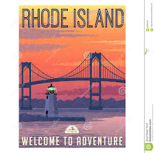 Rhode Island travel images images Rhode island travel poster or sticker stock vector image 89486798 jpg