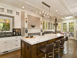 Big Kitchen Design Ideas by Large Kitchen Island Designs With Seating