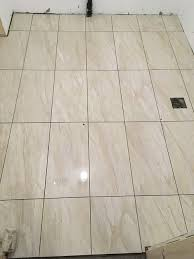 basement bathroom floor porcelain tile