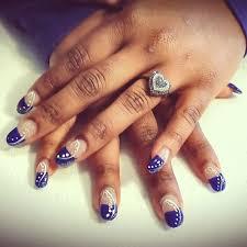 nail art dallas cowboys nails desigs nail art fascinating image