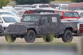 Spy Photos Reveal More About Jeep Wrangler Pickup Autoguide Com News