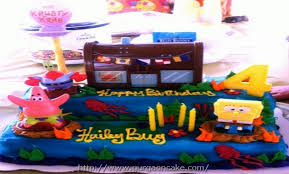 spongebob squarepants cake spongebob squarepants birthday cake ideas 1011