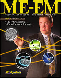 mechanical engineering annual report 2012 by michigan