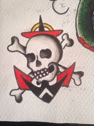 9 best tattoo flash images on pinterest skulls banners and clowns