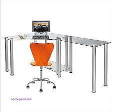 Glass Computer Corner Desk Computer Desk Luxury Glass Computer Corner Desk Glass Computer