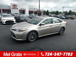new 2018 toyota avalon xle premium 4dr car in hermitage 41112